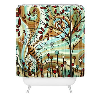 Madart Inc. Venturing Out Shower Curtain
