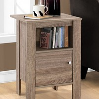Monarch Specialties | Taupe Night Stand | HauteLook