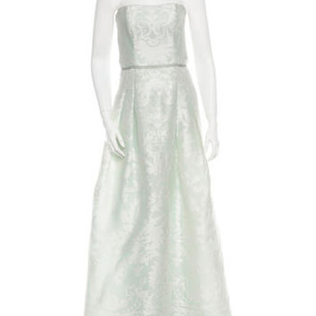 Carolina Herrera Silk Gown