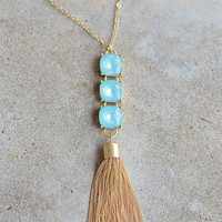 Falling Water Necklace (more colors)