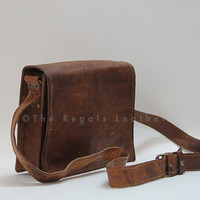 Handmade Leather Messenger bag (9 -17 Inch ) leather bag leather CrossBody bag  leather Portfolio Bag  leather bag