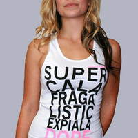 JbonClothingCo. DOPE SHIT Ladies TankTopPINK : Karmaloop.com - Global Concrete Culture