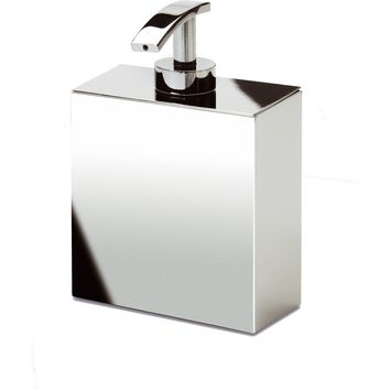 BoxMetal Pump Liquid Soap Lotion Dispenser for Bathroom, Kitchen, Solid Brass
