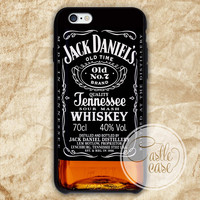 JACK DANIELS phone case iPhone 4/4S, 5/5S, 5C Series, Samsung Galaxy S3, Samsung Galaxy S4, Samsung Galaxy S5 - Hard Plastic, Rubber Case