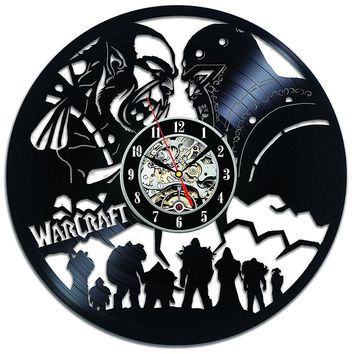 World of Warcraft 3D Vinyl Record Wall Clock