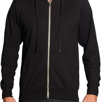 Men's French Terry Zip Down Hoodie TH891 - B14A