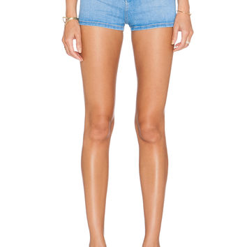 Current/Elliott The High Waist Short in Chester Blue