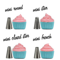 MINI Cupcake Decorating Tip Set