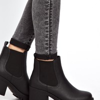 New Look Chewy Black Heavy Profile Chelsea Boots