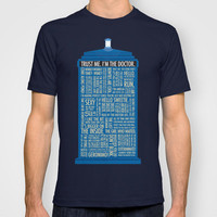 Doctor Who  T-shirt by Luke Eckstein | Society6