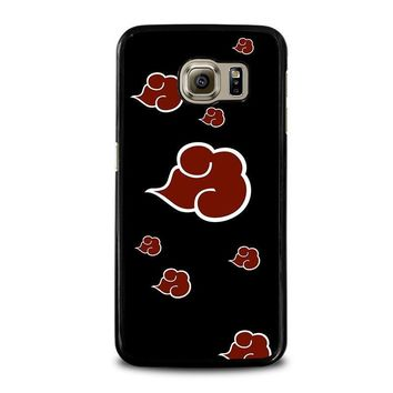 naruto akatsuki clouds samsung galaxy s6 case cover  number 1
