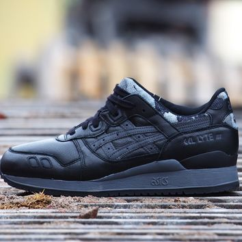 "Gel Lyte III ""Black Camo"""