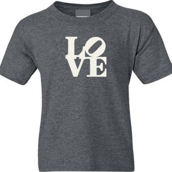 Philadelphia Love Robert Indiana Soft Short Sleeve Shirt