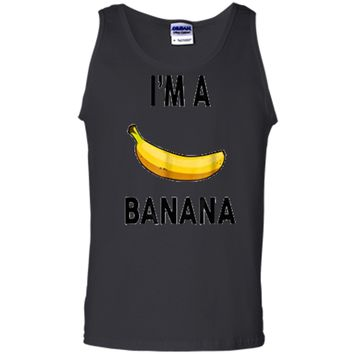 I'm a banana  - Halloween Banana Costume  Tank Top