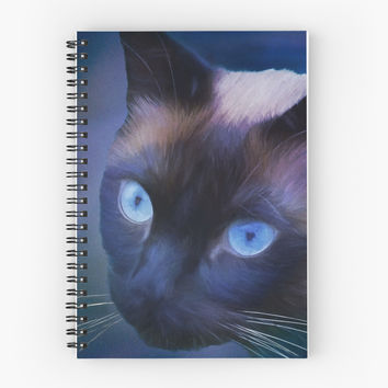 'Sulley Blues' Spiral Notebook by Theresa Campbell