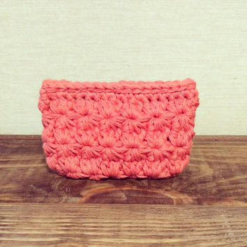 Coin Purse Puch Crochet Bag Mini Wallet Velcro Treasure Bag Money Holder
