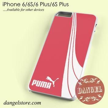 pink puma phone case for iphone 6 6s 6 plus 6s plus  number 1