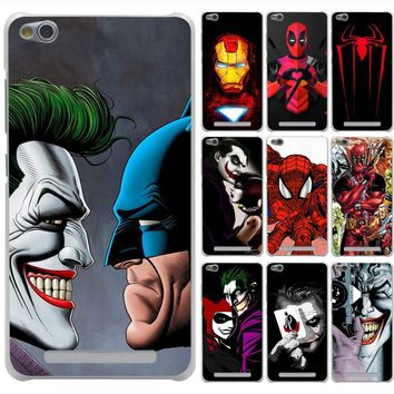 Lavaza Joker Killing Joke Deadpool Spider Case for Xiaomi Redmi 3 3S 4 6 Pro S2 4A 5A 5 Plus Note 5A Prime Note 3 5 Pro 4 4X