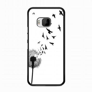 dandelion bird tattoo For HTC One M9 case