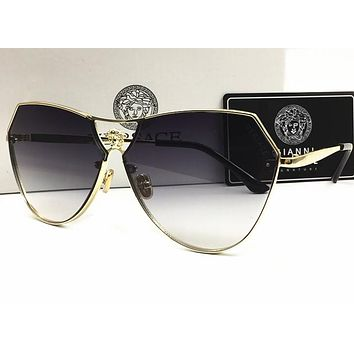 Versace Men's Metal Sunglasses