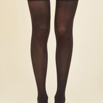Ensemble Enhancement Thigh Highs | Mod Retro Vintage Tights | ModCloth.com