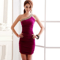 Sexy Women's Slim Fit Bodycon Dress Clubwear Cocktail Party Prom Bridesmaid Gown