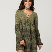 BILLABONG Lace Up Dress | Short Dresses