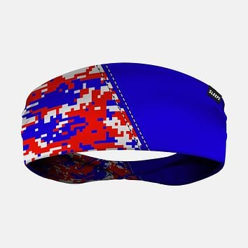 Arsenal Digi Camo Blue Red White Headband