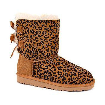 UGG Australia Kids Bailey Bow Rosette Boot  UGG Kids' I Jesse Bow Boot  UGG boots with bows