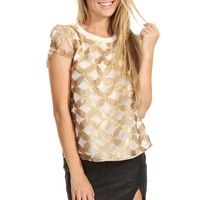 Gold Star Top - WHAT'S NEW - SHOP