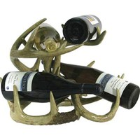 Rivers Edge Products 983 Deer Antler Wine Rack/Table
