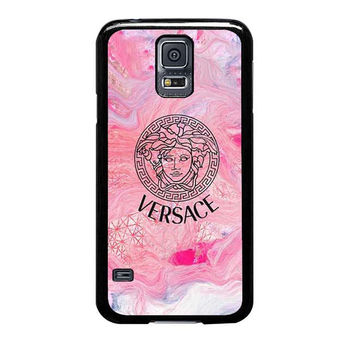 versace color splatter case for samsung galaxy s5