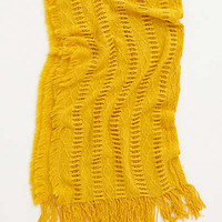 Anthropologie - Pointelle Fringe Throw