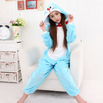 Animal Sleepwear Lovely Cartoons Couple Home Set Halloween Costume [9220977988]