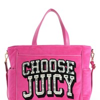 Choose Juicy Velour Baby Bag by Juicy Couture