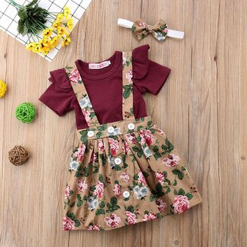 Kennedy's Suspender Skirt 3 pc Set