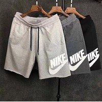 NIKE Print Sports Running Shorts for Women Men