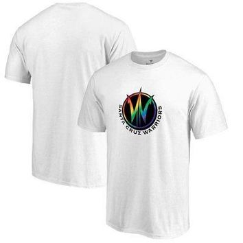 Licensed Sports Santa Cruz Warriors Fanatics Branded Team Pride T-Shirt - White KO_20_2