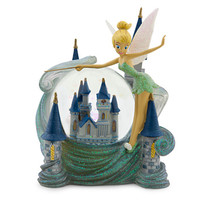 Tinker Bell and Cinderella Castle Snowglobe - Walt Disney World | Disney Store