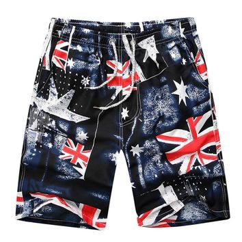 Couple swimsuit sexy womens mens polyester board swim shorts gym sports running surfing swimming boxer beach quick dry swimwear