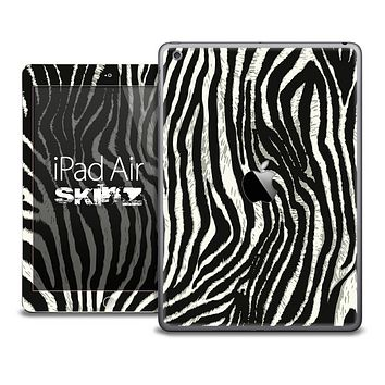 The Real Vector Zebra Skin for the iPad Air