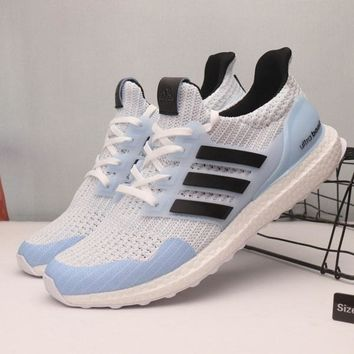 f703f5bcd9c Game Of Thrones x Adidas Ultra Boost 4.0 White Walker Sport Runn