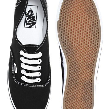 Vans Lo Pro Classic Black and White Lace Up Trainers