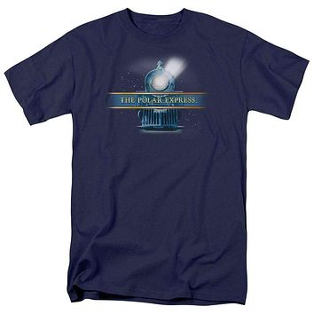 Adult Polar Express/Train Logo T Shirt