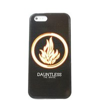 NEW DIVERGENT DAUNTLESS FOR IPHONE 4 4S 5 5C 5S 6S 6 PLUS RUBBER SKIN CASE COVER