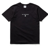 Undefeated No Surrender Tee In Black