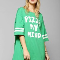 Lazy Oaf One Track Mind Oversized Tee - Urban Outfitters