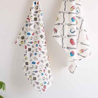 Assembly Home Baaad Food Tea Towel Set- Multi One