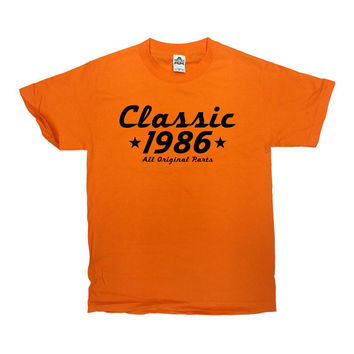 Funny Birthday Shirt Classic 1986 (Any Year) 30th Birthday Gift 30 Years Old Gifts For Birthday Custom Shirt Bday Mens Ladies Tee - SA451