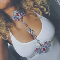 Beach Fashion Sexy Body Chain & Crystal Waist Belt